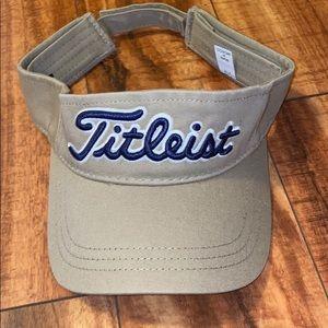 Titleist Hawaiian Hawaii visor hat khaki tan golf